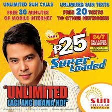 Sun Cellular Unlimited Call and Text