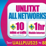 globe unlimited text promo