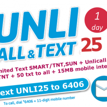 smart unlimited call promo