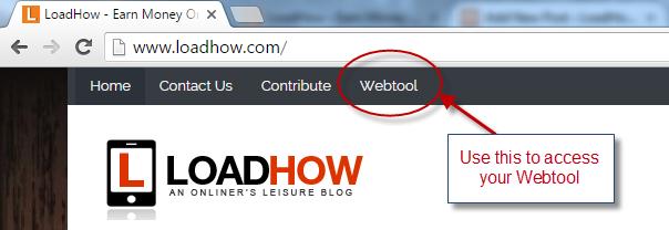 click webtool