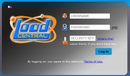 loadcentral webtool